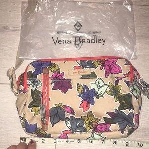 "Vera Bradley tan bag 9"" x 6"" crossbody like new"